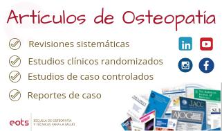 artículos científicos de osteopatía