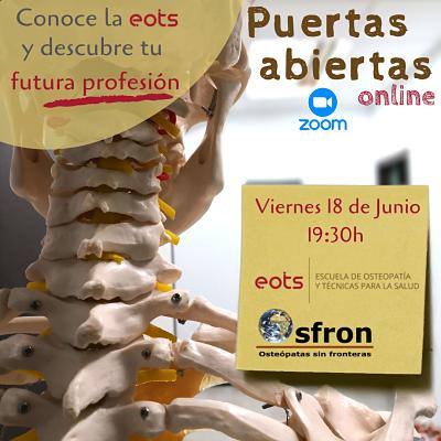 Jornada de Puertas Abiertas – Escuela de Osteopatía EOTS
