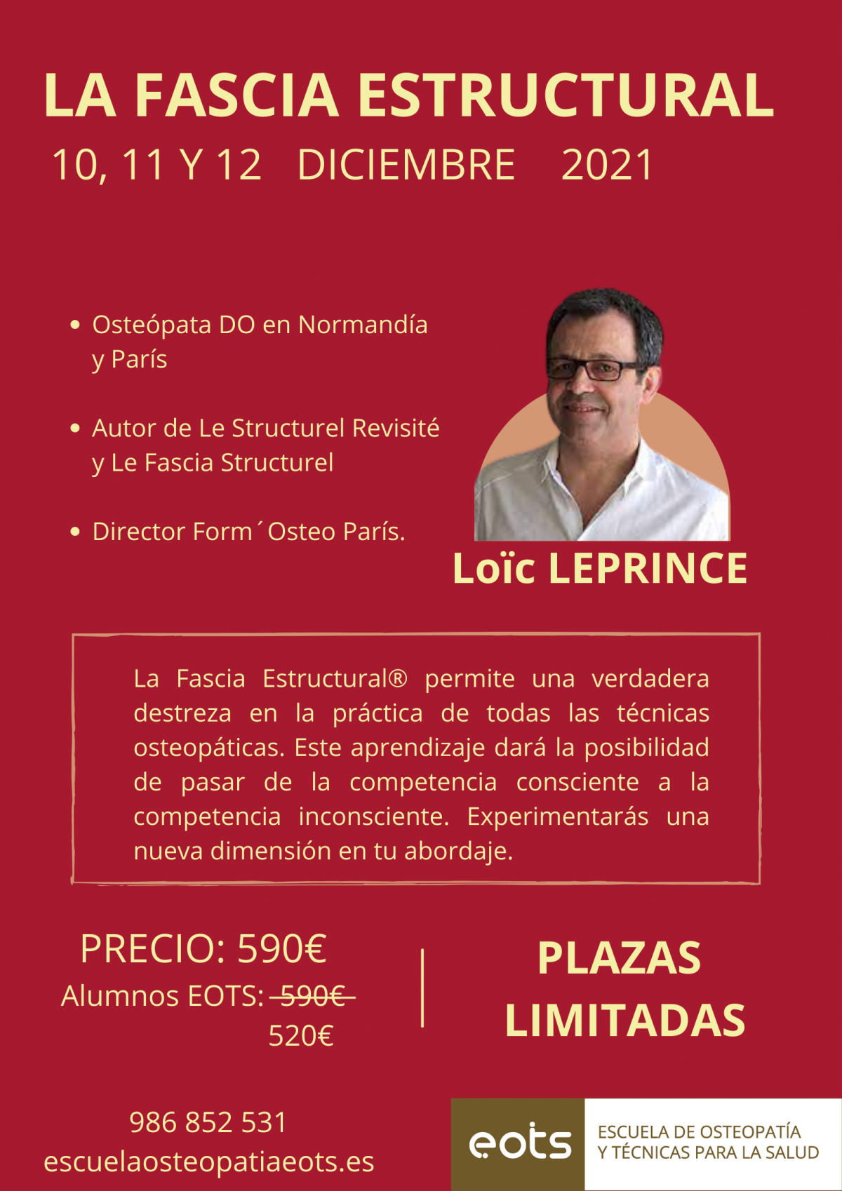 La Fascia Estructural – Loïc Leprince – Escuela Osteopatía Pontevedra